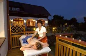 Massage aussen
