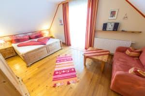 Mohnblumenzimmer - Hotel Hügellandhof Uitz Süd-Burgenland