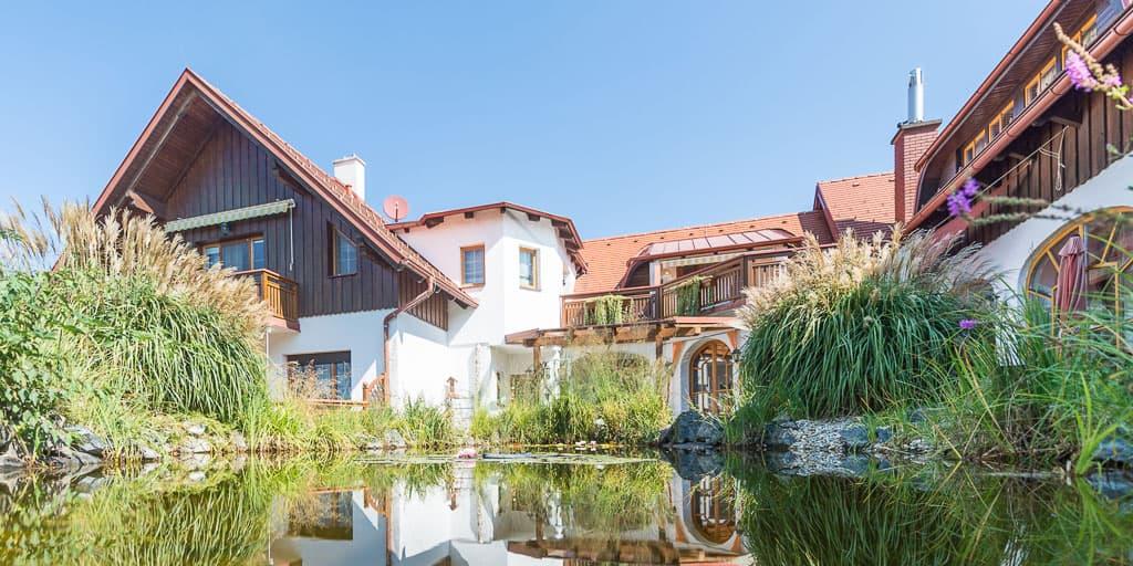 Hotel Hügellandhof im Südburgenland - Vorderansicht