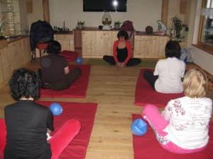 Yoga im Hügellandhof Uitz im Süd-Burgenland