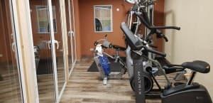 Fitnessraum im Hotel Hügellandhof Uitz im Süd-Burgenland