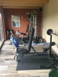 FitnessraumFitnessraum im Hotel Hügellandhof Uitz im Süd-Burgenland